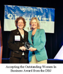OWIB2013_accepting the award